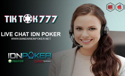 Live Chat IDN Poker Resmi IDNPLAY
